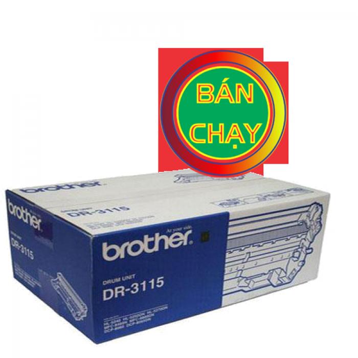 CỤM TRỐNG BROTHER DR 3115 sử  dụng cho các dòng máy Brother: HL 5240/5250D/5270DN, MFC  8460N/8860DN, DCP 8060/8065DN.5