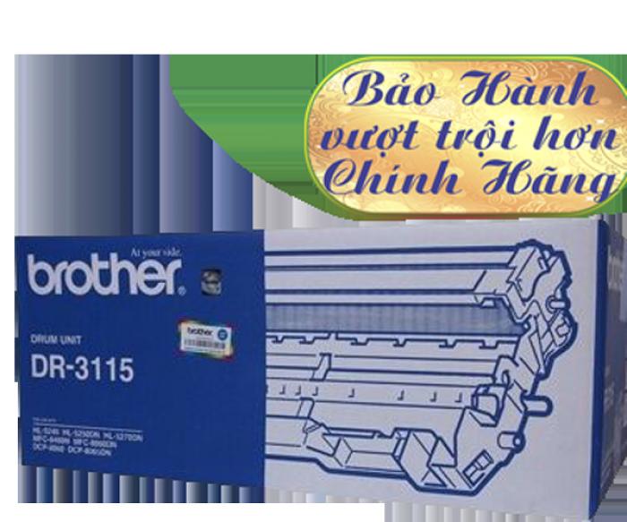 CỤM TRỐNG BROTHER DR 3115 sử  dụng cho các dòng máy Brother: HL 5240/5250D/5270DN, MFC  8460N/8860DN, DCP 8060/8065DN.4