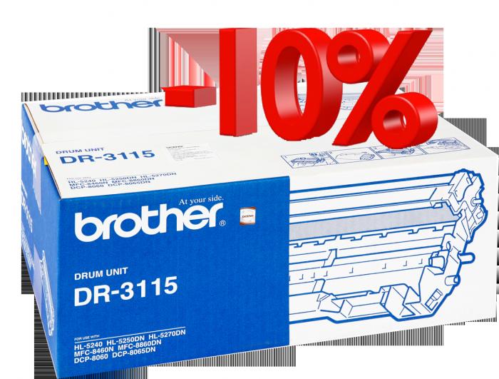 CỤM TRỐNG BROTHER DR 3115 sử  dụng cho các dòng máy Brother: HL 5240/5250D/5270DN, MFC  8460N/8860DN, DCP 8060/8065DN.0
