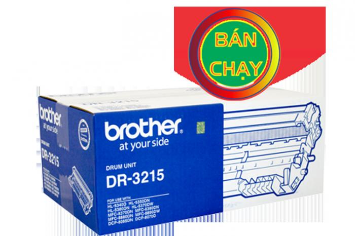 CỤM TRỐNG BROTHER DR 3215 sử  dụng cho các dòng máy Brother: HL 5340D/5370DW, MFC 8370DN/8890DW, DCP 8085DN/8070D.3