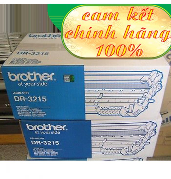 CỤM TRỐNG BROTHER DR 3215 sử  dụng cho các dòng máy Brother: HL 5340D/5370DW, MFC 8370DN/8890DW, DCP 8085DN/8070D.1