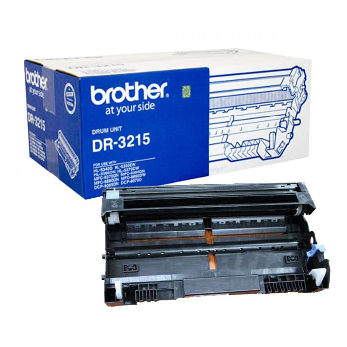 CỤM TRỐNG BROTHER DR 3215 sử  dụng cho các dòng máy Brother: HL 5340D/5370DW, MFC 8370DN/8890DW, DCP 8085DN/8070D.0