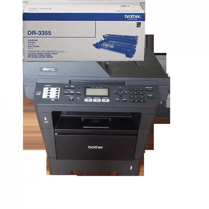CỤM TRỐNG BROTHER DR 3355 sử  dụng cho các dòng máy Brother: HL 5440D/5450DN/5470DW/6180DW, DCP-8110D/8110DN/8155DN, MFC 8510DN/8910DW/8950DW0
