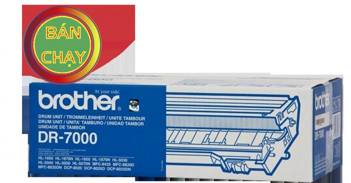 CỤM TRỐNG BROTHER DR 7000 sử  dụng cho các dòng máy Brother: HL 1650/1670N/1870N/5030/5040/5070N, MFC 8820D/8820DN/ DCP 8025D/8025DN.5