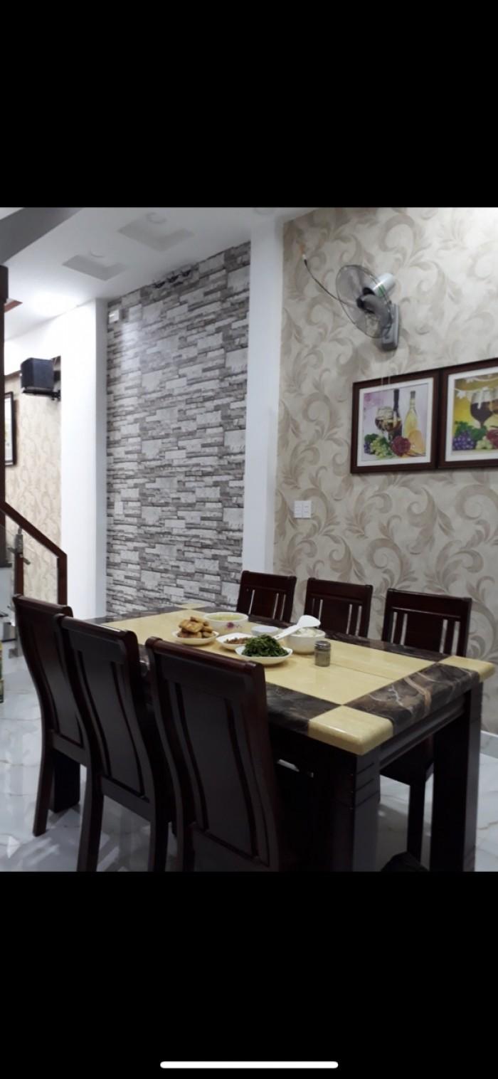 Nhà 1 trệt 1 lửng . 5.5x7m ngay Trần Thị Cờ gần ubnd p. Thới An quận 12