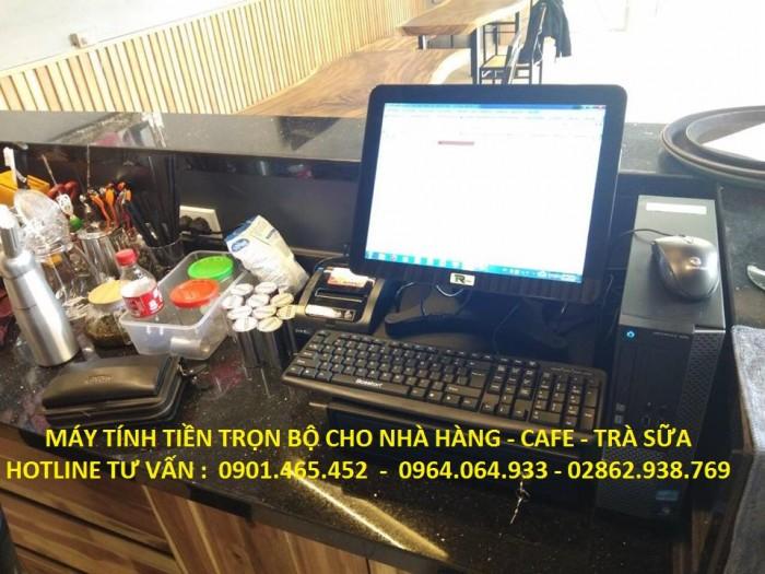 Bán Trọn bộ Máy Tính Tiền POS cho Quán Cafe tại Tân Bình Bình Thạnh2