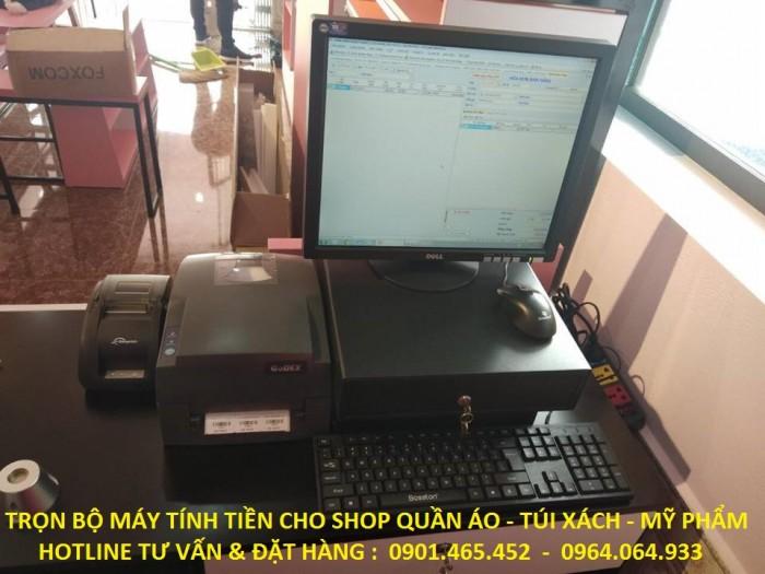 Nhận Lắp Đặt Trọn Bộ Máy Tính Tiền và Cổng Từ An Ninh cho Shop Thời Trang tại Bình Phước5