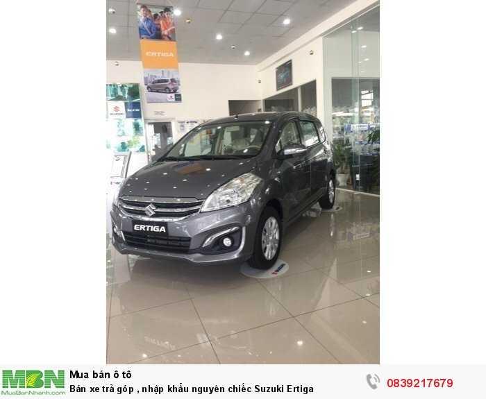Bán xe trả góp, nhập khẩu nguyên chiếc Suzuki Ertiga