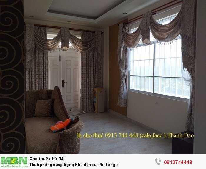 Thuê phòng sang trọng Khu dân cư Phi Long 5