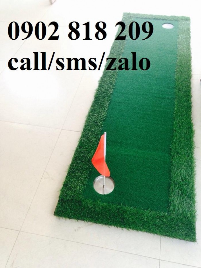 Cờ golf inox mini cho green golf trong nhà1