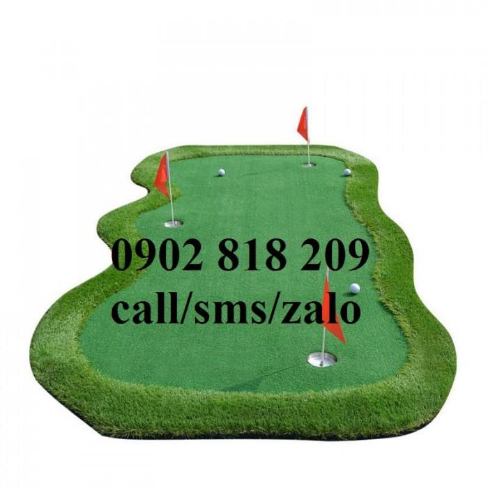 Cờ golf inox mini cho green golf trong nhà3