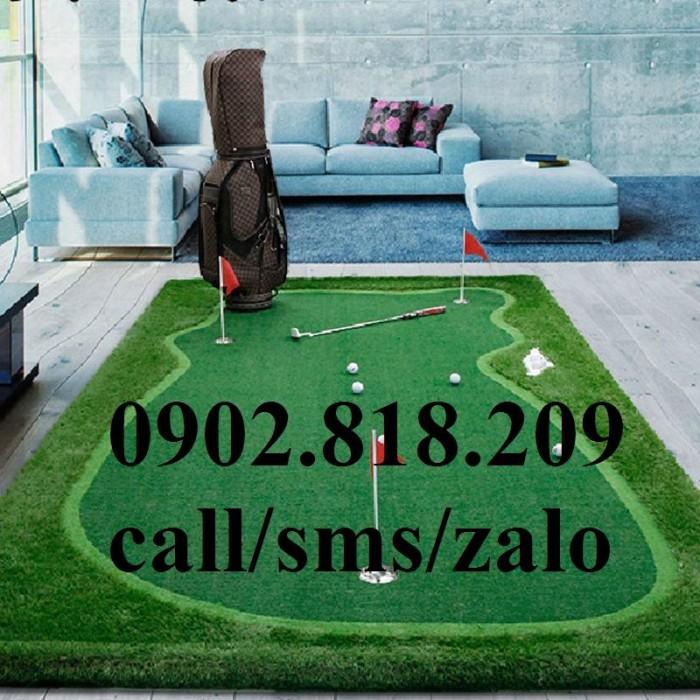 Cờ golf inox mini cho green golf trong nhà2