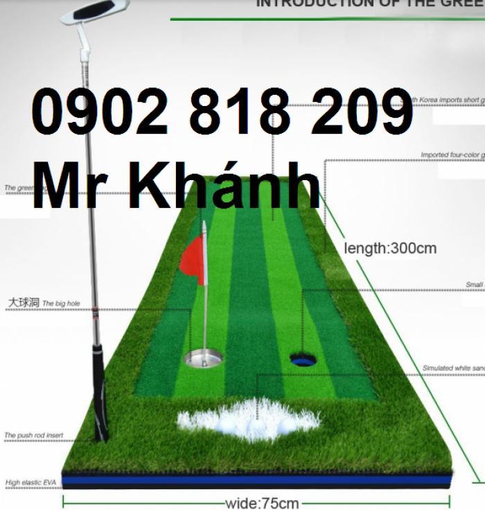 Cờ golf inox mini cho green golf trong nhà0