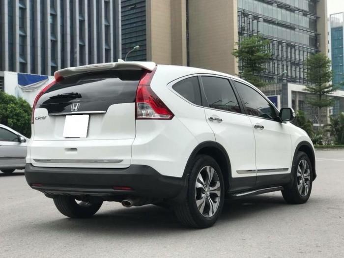 Đổi xe mới bán Crv 2015 Full option bản 2.4 full option, màu trắng ngọc trinh