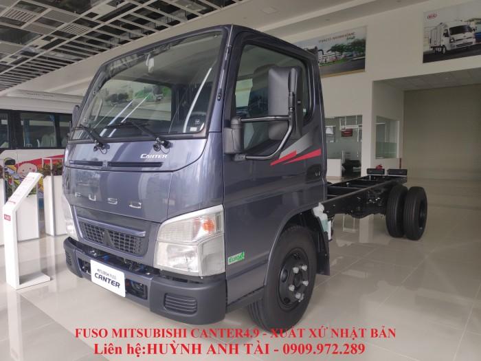 Xe tải Mitsubishi Fuso Canter 2.3 Tấn trả góp 80% tại Vũng Tàu