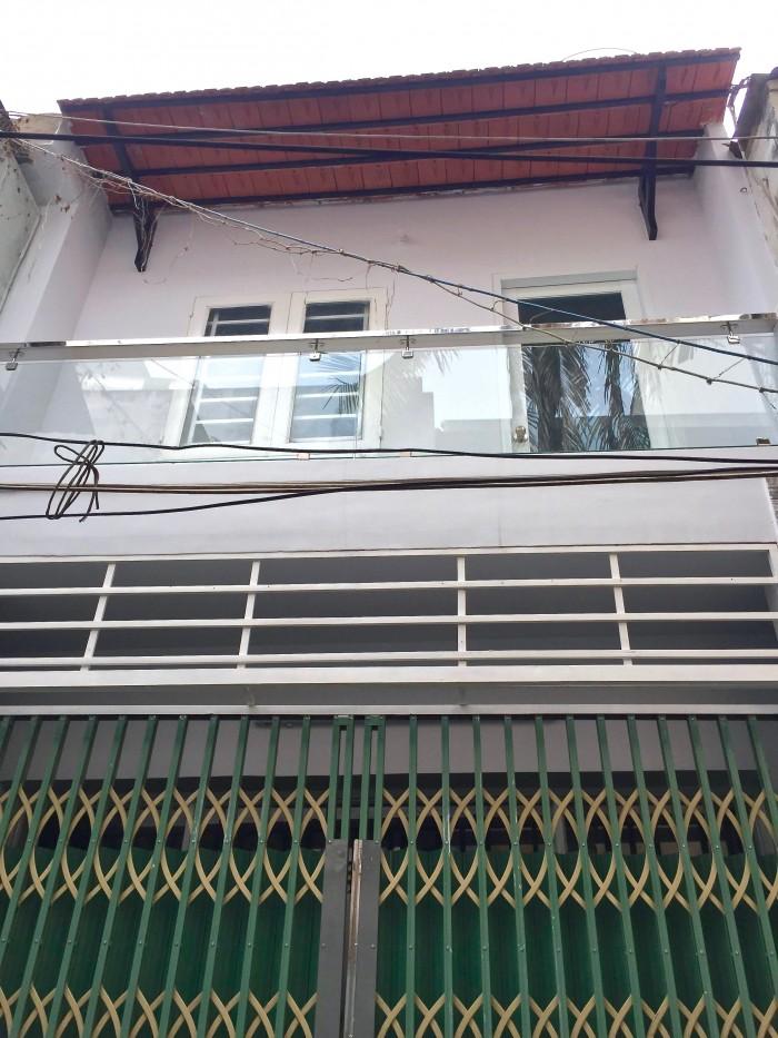 Nhà bán Bình Thạnh, Phan Văn Trị, 4x9m, DTCN: 33m2