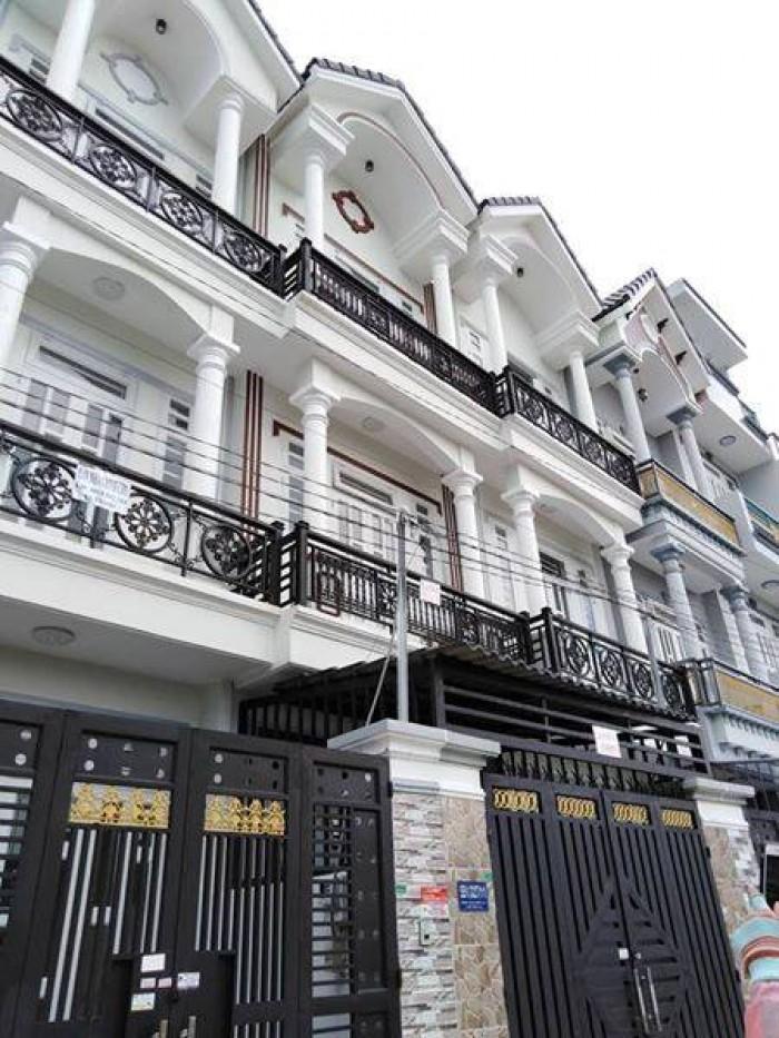 Bán nhà 2 lầu mới Nguyễn Thị Tú, Ngã 4 Gò Mây. Giá cực hấp dẫn mùa Tết chỉ 1.62 tỷ