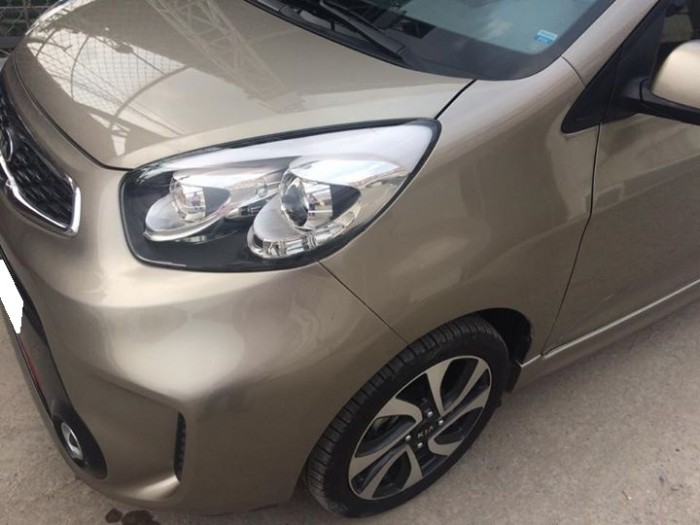 Bán Kia Morning SI 2016 tự động màu vàng xe đi kỹ còn như mới