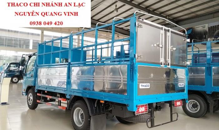 Xe tải 5 tấn - Thaco Trường Hải - Ollin 500.E4  ĐỘNG CƠ WEICHAI- thùng dài 4m4 - Hỗ trợ trả góp
