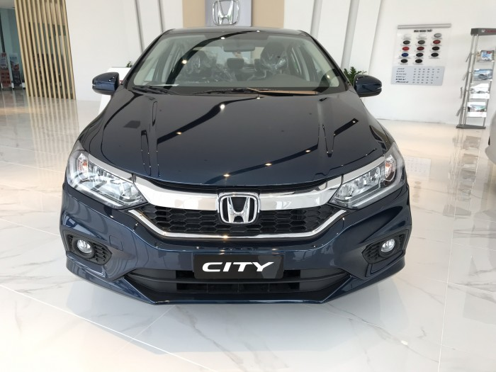 Honda City CVT màu xanh giao ngay 4