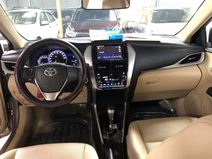 Cần bán xe Toyota Vios 1.5G AT 2018 , có hỗ trợ trả góp , fix giá mạnh cho ae thiện chí 8