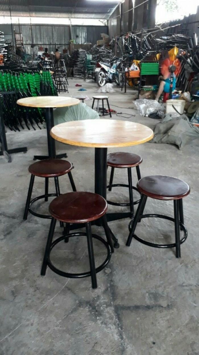 Bàn ghế cafe giá rẻ tại xưởng sản xuất HGH 930