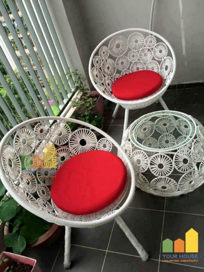 Bàn ghế cafe giá rẻ tại xưởng sản xuất HGH 970