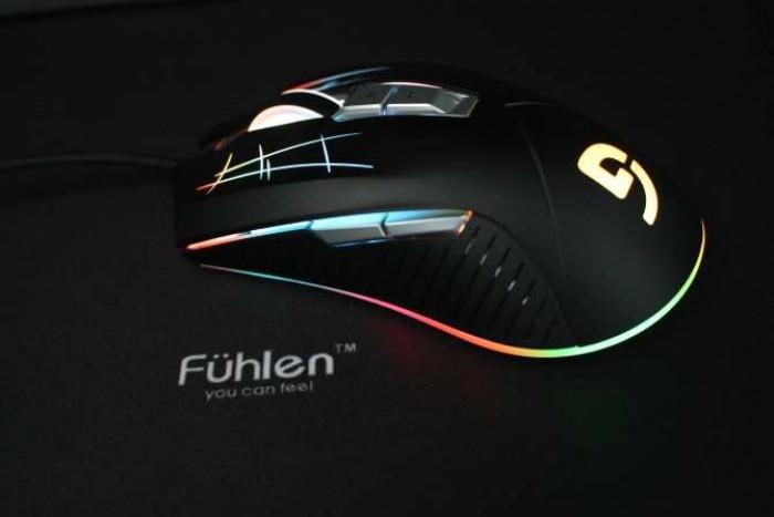 Chuột game Fuhlen G93S led RGB chính hãng3