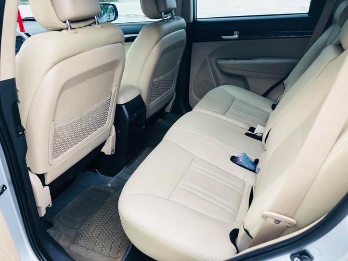 Bán xe Kia Sorento GAT 2017 máy xăng màu bạc zin cực chất 5