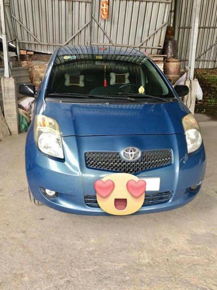 Cần bán xe Toyota Yaris 2007 at 1.3 nhập Nhật, xe màu xanh cực đẹp 0
