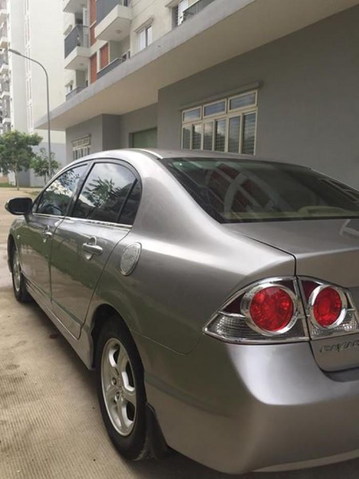 Cần bán xe Honda Civic 2008 tự động màu xám zin cực đẹp