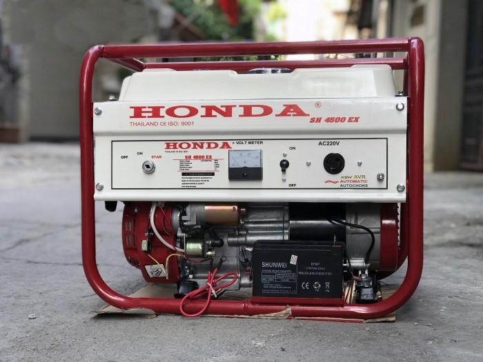 Đại lý phân phối máy phát điện 3kW chính hãng HONDA SH4500EX giá rẻ nhất toàn quốc tại Hà Nội1