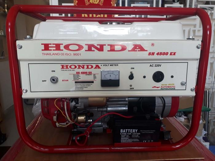 Đại lý phân phối máy phát điện 3kW chính hãng HONDA SH4500EX giá rẻ nhất toàn quốc tại Hà Nội0