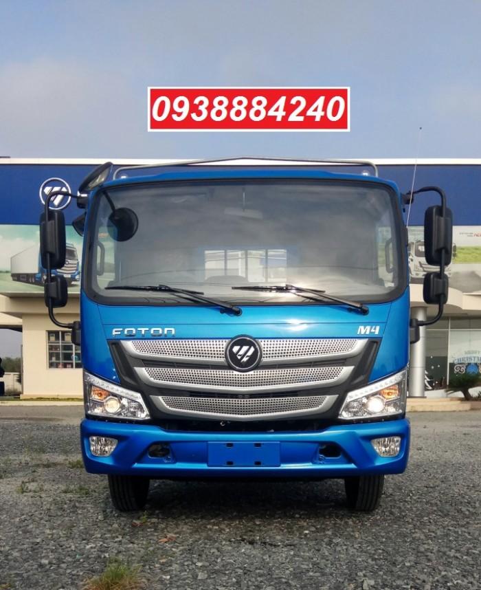 Bán xe tải Thaco Foton M4-350 euro 4 tải 3,5 tấn thùng 4,4m - Góp 80% Long An Tiền Giang Bến Tre 9