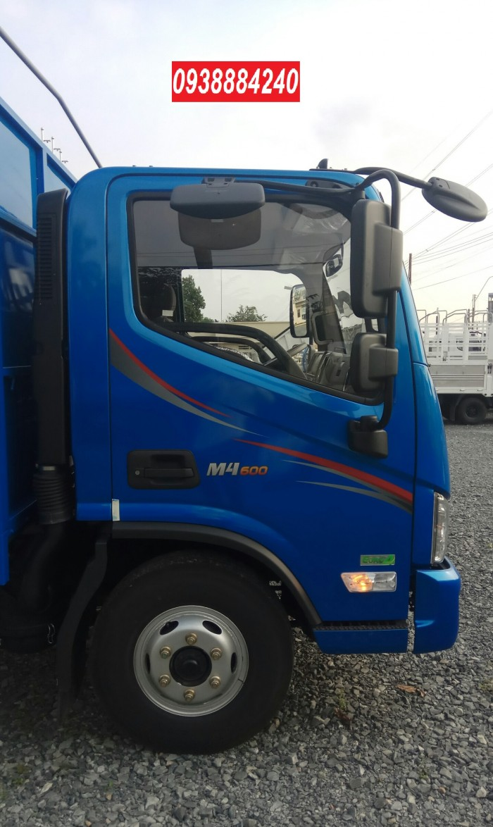 Bán xe tải Thaco Foton M4-350 euro 4 tải 3,5 tấn thùng 4,4m - Góp 80% Long An Tiền Giang Bến Tre 8