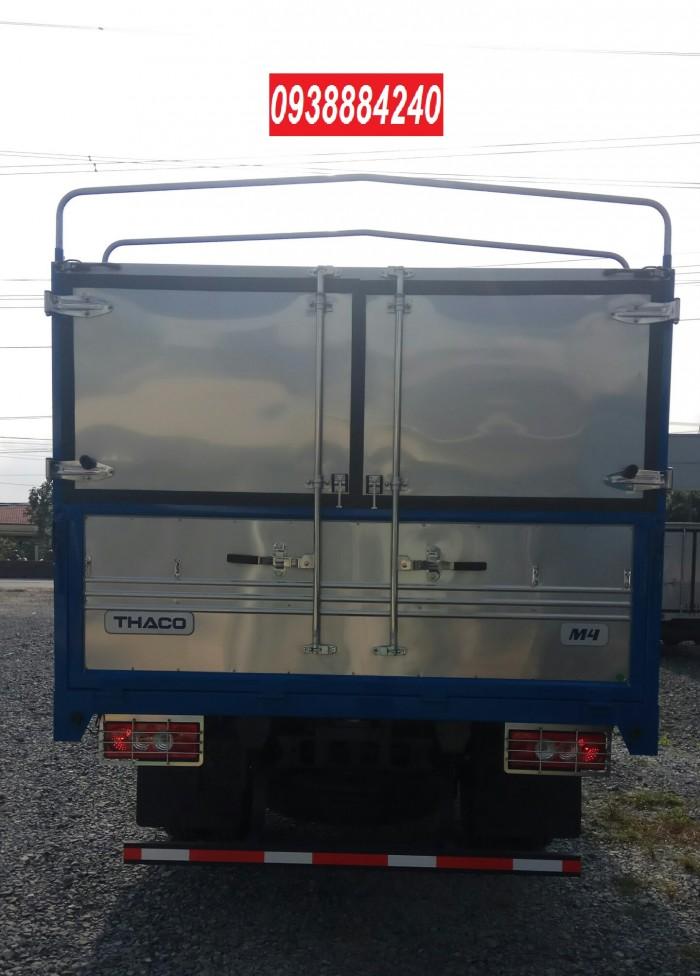 Bán xe tải Thaco Foton M4-350 euro 4 tải 3,5 tấn thùng 4,4m - Góp 80% Long An Tiền Giang Bến Tre 7