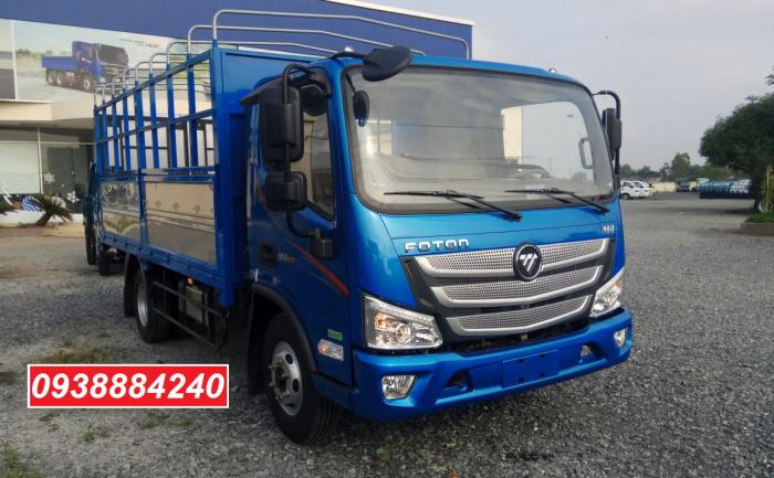 Bán xe tải Thaco Foton M4-350 euro 4 tải 3,5 tấn thùng 4,4m - Góp 80% Long An Tiền Giang Bến Tre 5
