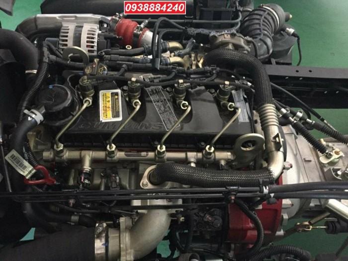 Bán xe tải Thaco Foton M4-350 euro 4 tải 3,5 tấn thùng 4,4m - Góp 80% Long An Tiền Giang Bến Tre 10