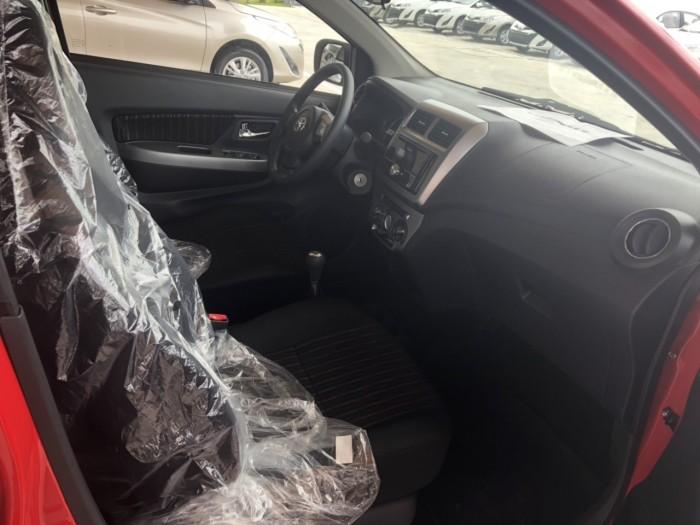 Toyota wigo 1.2 số sàn MÀU ĐỎ MỚI 100% 3
