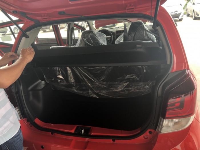 Toyota wigo 1.2 số sàn MÀU ĐỎ MỚI 100% 2