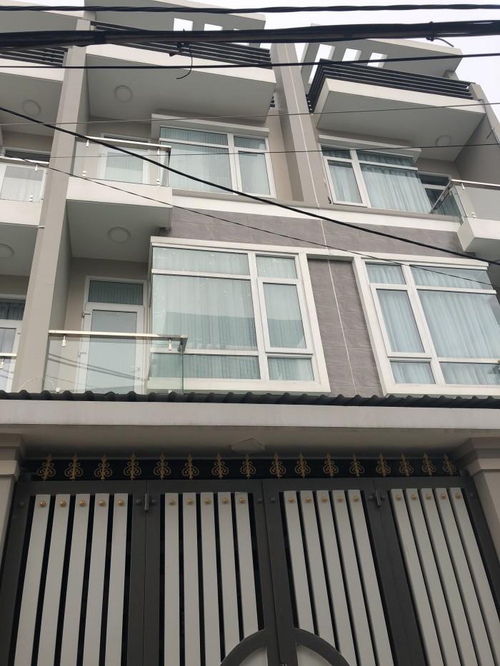 Bán nhà 1tr, 2l, SHR ,DT : 4m x 17m  đường TL40, Q12.