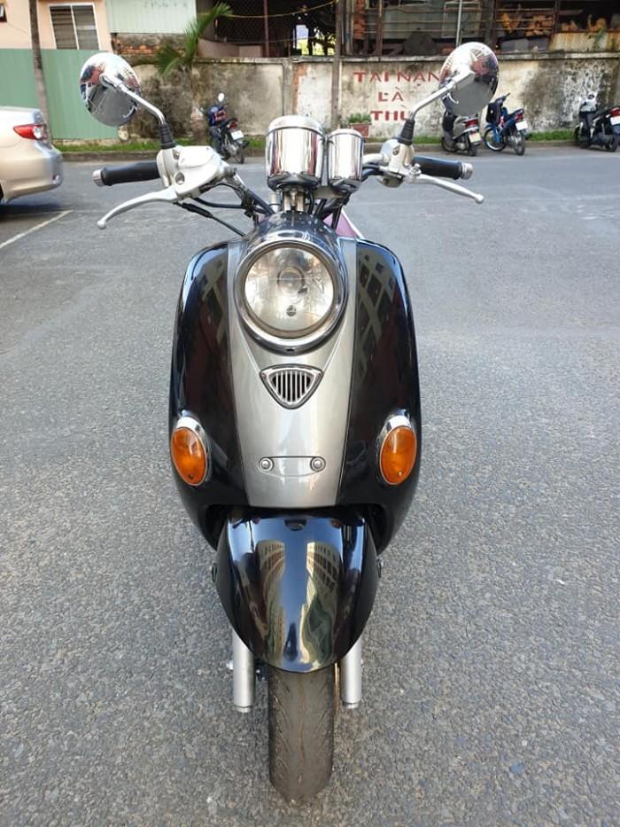 Suzuki Bella 125 kiểu Dáng Vespa cổ điển Ý Mang Phong Cách Châu Âu Hiện Đại Tuyệt Đẹp