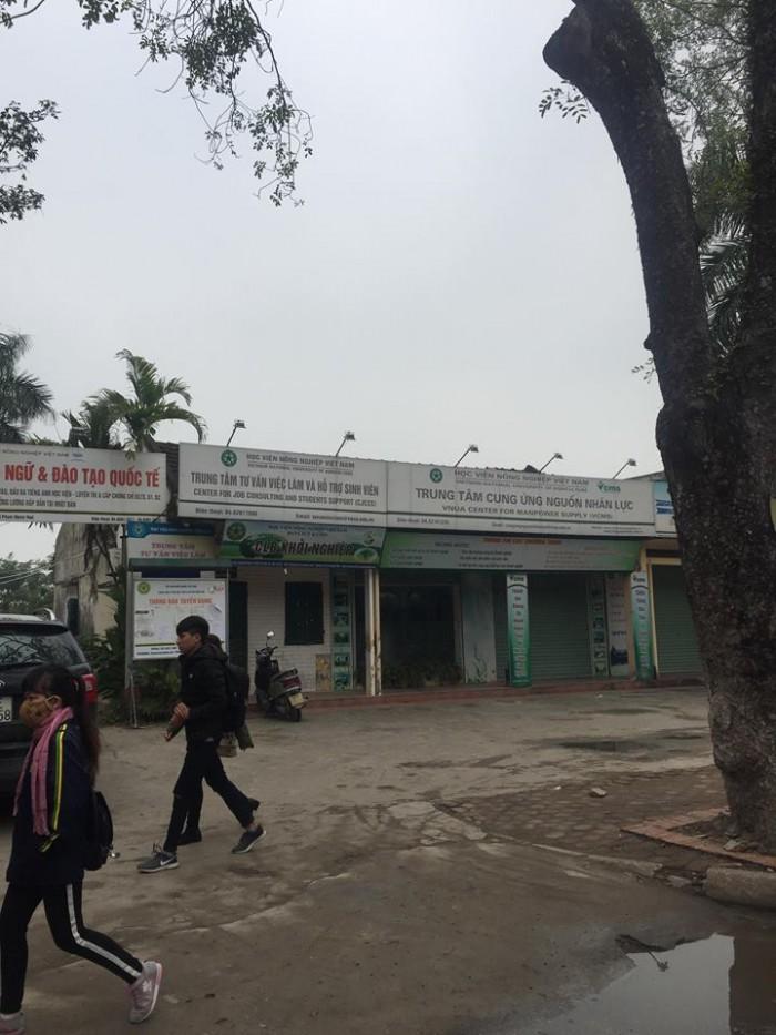 Cho thuê kiot kinh doanh NGAY TRONG trường ĐH Nông Nghiệp