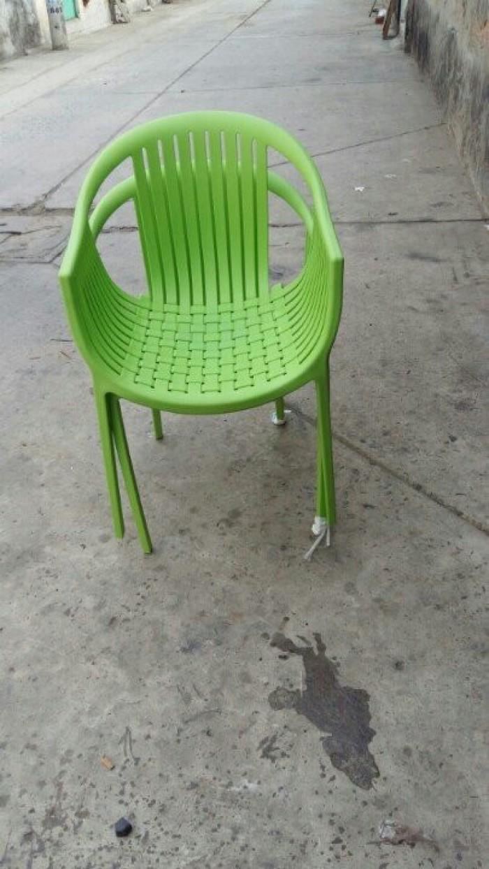 Bàn ghế nhựa đúc giá rẻ tại xưởng sản xuất HGH 3200