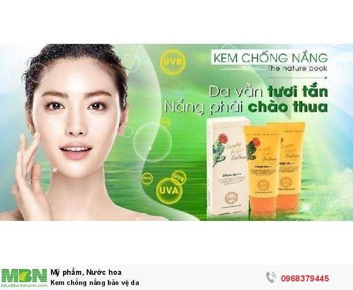 Kem chống nắng bảo vệ da