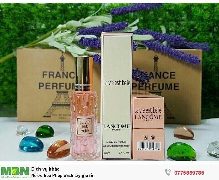 Nước hoa Pháp xách tay giá rẻ