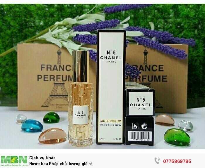 Nước hoa Pháp chất lượng giá rẻ