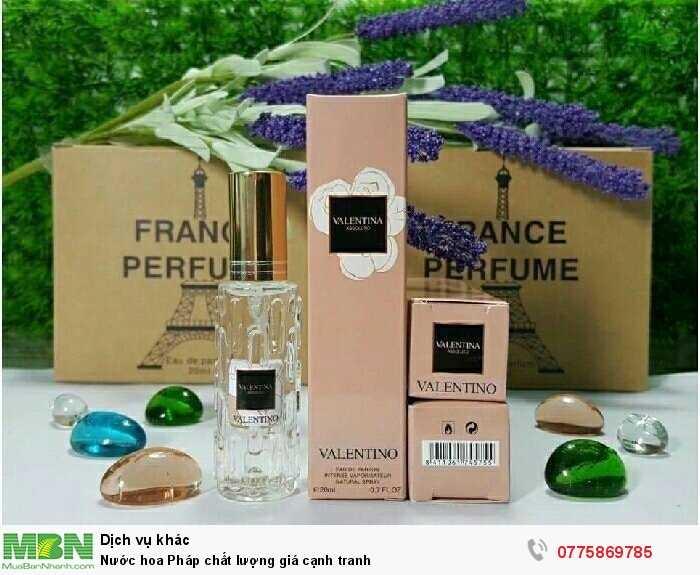 Nước hoa Pháp chất lượng giá cạnh tranh