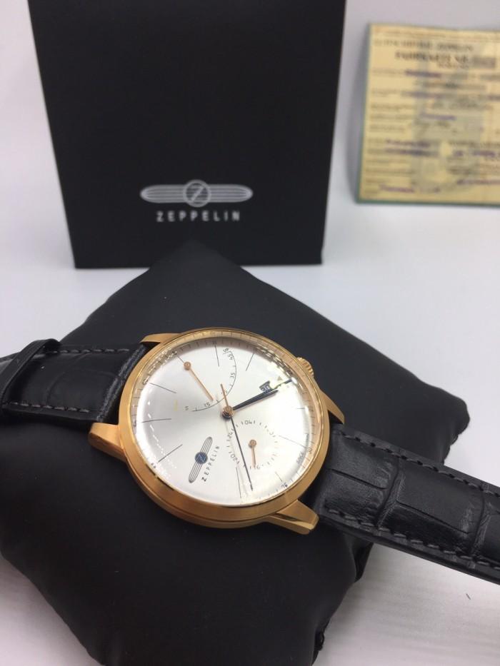 Đồng hồ Zeppelin 7368-4 Series Flatline rose gold0