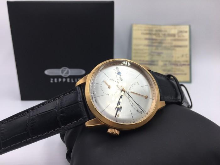 Đồng hồ Zeppelin 7368-4 Series Flatline rose gold2